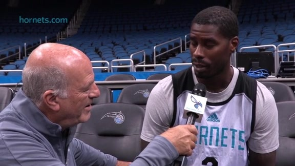 Shootaround Sound | Marvin Williams - 10/03/15