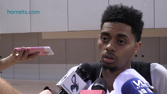 NBA Global Games Practice Sound - Jeremy Lamb - 10/10/15