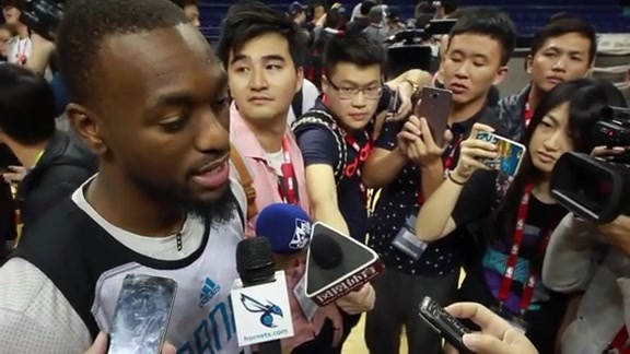 NBA Global Games Practice Sound - Kemba Walker - 10/13/15