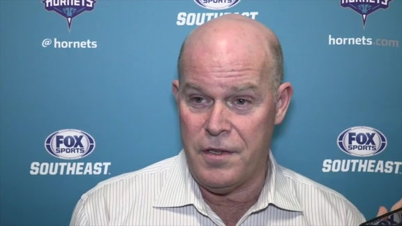 Steve Clifford Pregame - 11/27/15 - Part 1 of 2