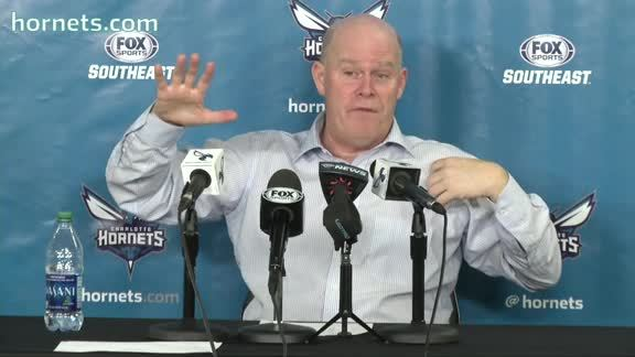 Hornets Postgame | Steve Clifford - 11/29/15 - Part 2 of 2