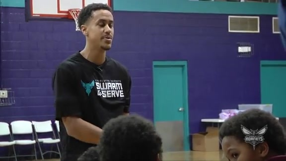 Brian Roberts Visits Boys And Girls Club