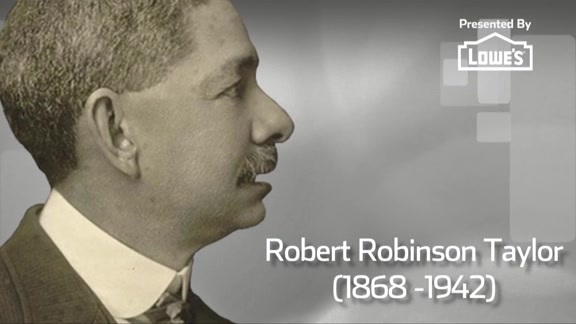Black History Month Spotlight presented by Lowe's   Robert Robinson Taylor