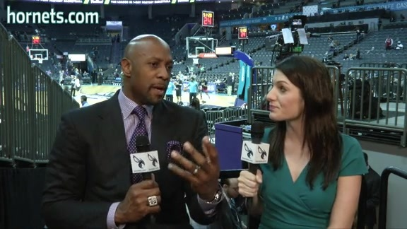 Buzz City Honors Hornets Legend Alonzo Mourning - 2/5/16