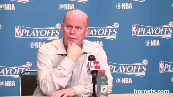 Playoffs Postgame | Steve Clifford - 5/1/16