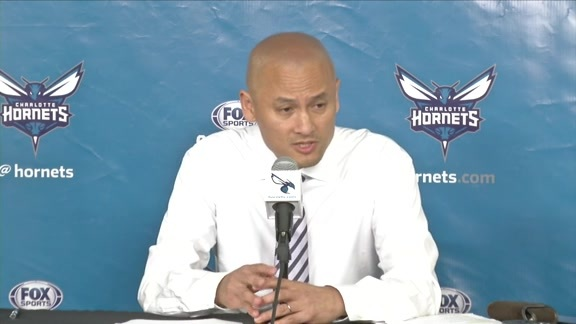 Rich Cho End-of-Season Press Conference - 5/4/16 - Part 1 of 3