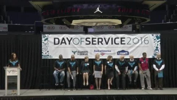2016 Hornets Day of Service Press Conference - 6/20/16 - Part 1 of 2