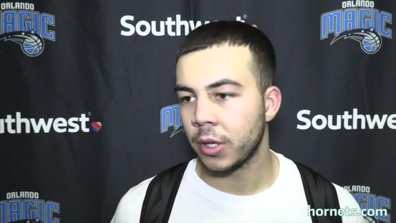 Hornets Summer League Postgame | Gabe York - 7/3/16