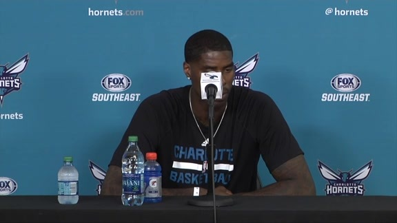 Marvin Williams Press Conference - 07/11/16