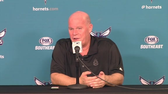 Hornets Media Day 2016 - Steve Clifford Availability- 9/26/16 - Part 4 of 4