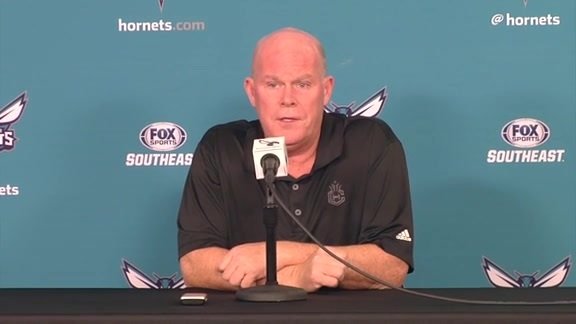 Hornets Media Day 2016 - Steve Clifford Availability - 9/26/16 - Part 1 of 4