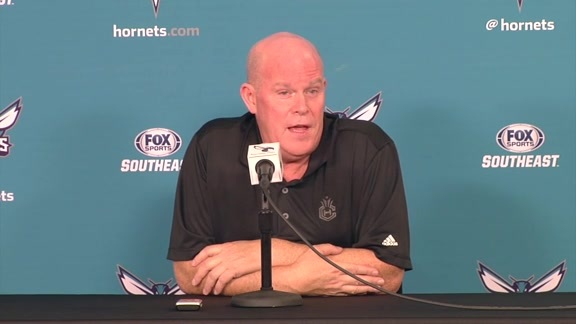 Hornets Media Day 2016 - Steve Clifford Availability - 9/26/16 - Part 3 of 4