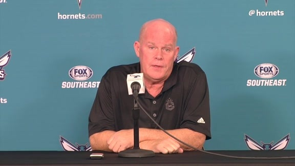 Hornets Media Day 2016 - Steve Clifford Availability - 9/26/16 - Part 2 of 4