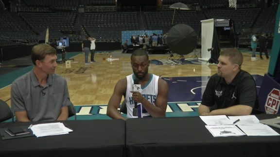 Hornets Media Day 2016 - Live with Matt and Matt - Best Bites - 9/26/16