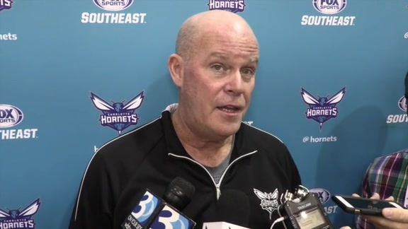 2016 Training Camp | Steve Clifford - 9/27/16