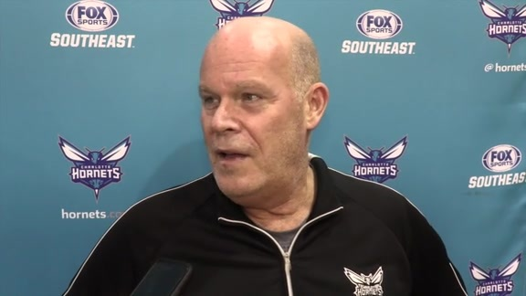 2016 Training Camp | Steve Clifford - 9/29/16
