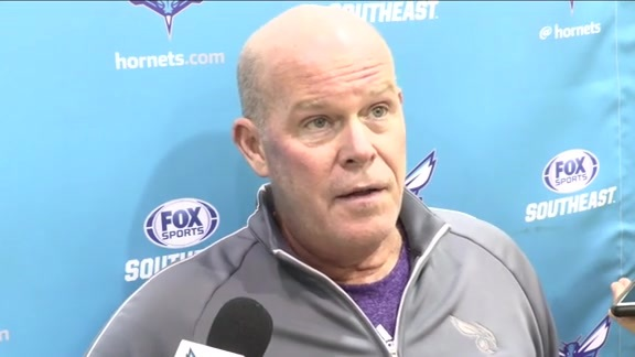 2016 Training Camp | Steve Clifford - 10/1/16