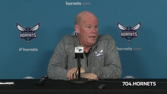 2017 Hornets Media Day - Steve Clifford Availability - 9/25/17 - Part 3 of 3