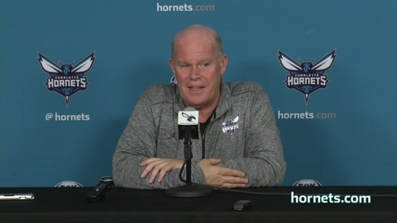 2017 Hornets Media Day - Steve Clifford Availability - 9/25/17 - Part 1 of 3