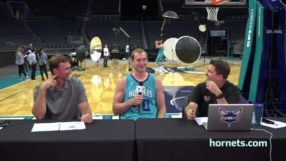 2017 Hornets Media Day - Live with Matt and Matt - Best Bites - 9/25/17