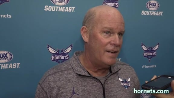 Training Camp Day 1 | Steve Clifford - 9/26/17