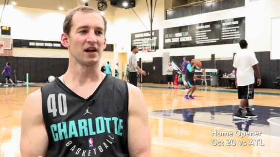 2017 Hornets Training Camp Spotlight | Cody Zeller - 10/10/17