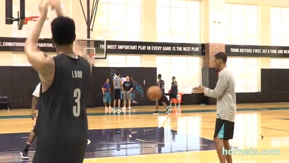 Hornets Spotlight | Jeremy Lamb Ready to Start - 10/6/17