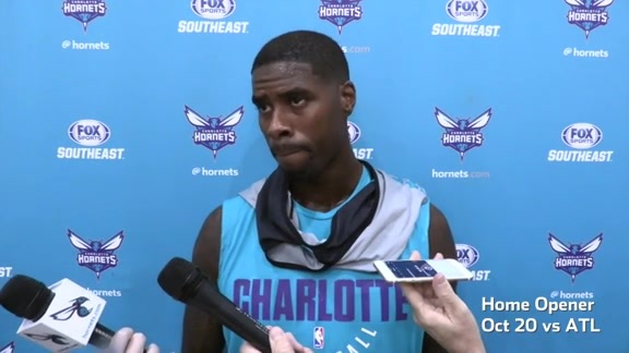 Hornets Practice | Marvin Williams - 10/17/17