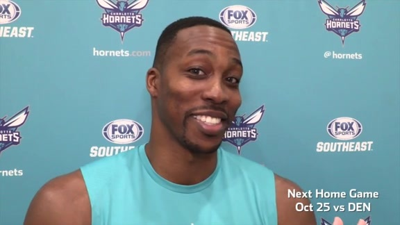 Hornets Practice | Dwight Howard - 10/21/17