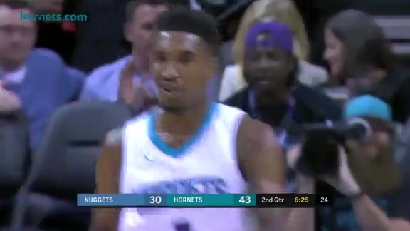 Hornets Highlights | Malik Monk - 10/25/17