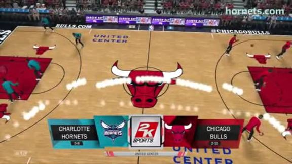 NBA 2K Preview vs Bulls - 11/17/17