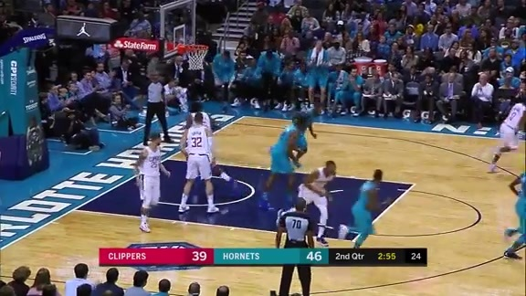 Hornets Highlights | Kemba Walker vs Clippers - 11/18/17