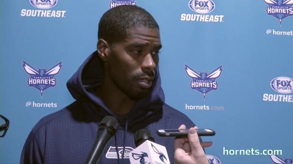 Hornets Shootaround | Marvin Williams - 11/20/17