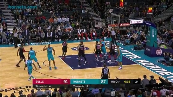 Hornets Highlights | Dwight Howard vs Bulls - 12/8/17
