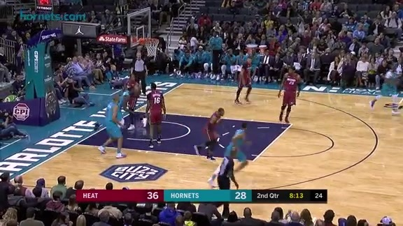 Hornets Highlights | Kemba Walker vs Heat - 12/15/17