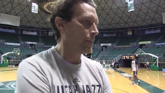 Quin Snyder – Practice 10.3.15 (Hawaii)