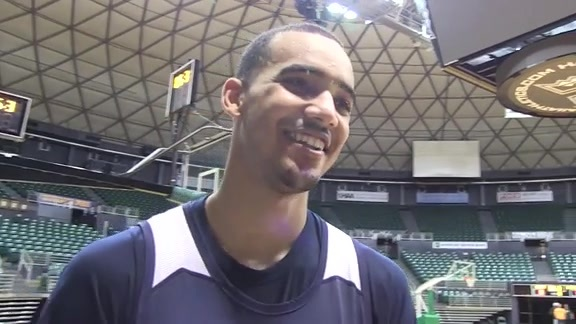 Trey Lyles – Practice 10.3.15 (Hawaii)