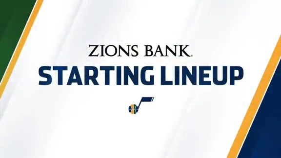 Zions Bank Starting Lineup 10.28.15