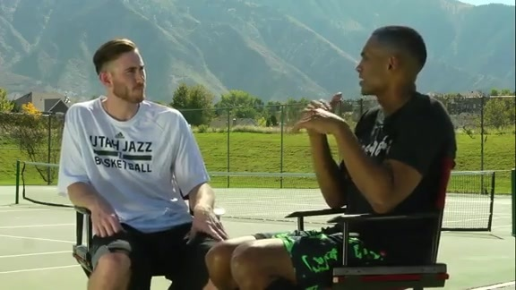 Gordon Hayward - Inside Stuff