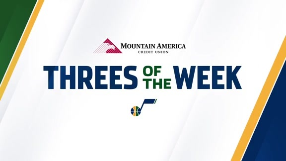 Threes of the Week: Bank's Open