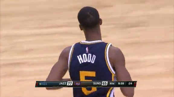 Rodney Hood Goes For 25 Points vs. Suns