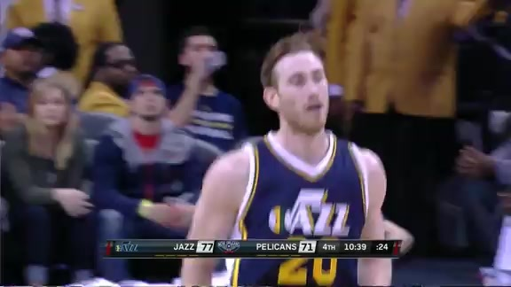 Highlights: Jazz 96, Pelicans 100
