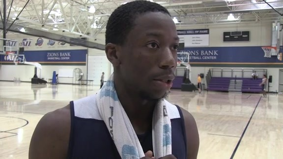 Josh Hagins Pre-Draft Workout 5.4.16