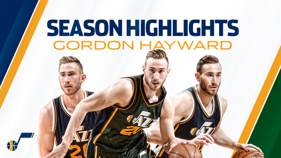 Gordon Hayward - Season Highlights