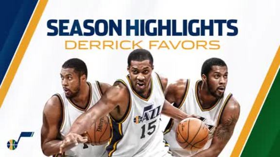 Derrick Favors - Season Highlights