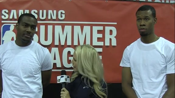Alec Burks and Rodney Hood share Summer League Memories