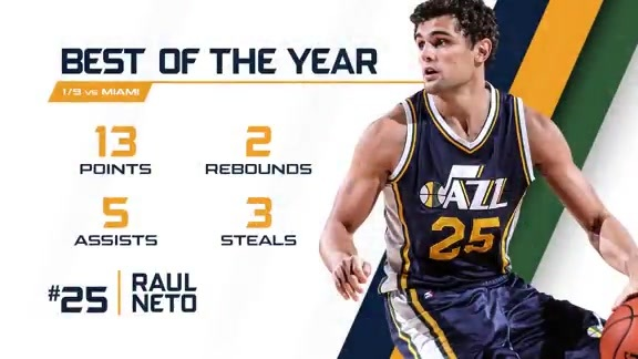 Raul Neto - Best of the Year