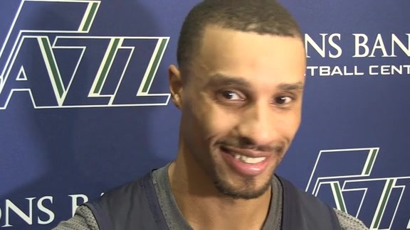 George Hill talks about first day of Jazz Training Camp