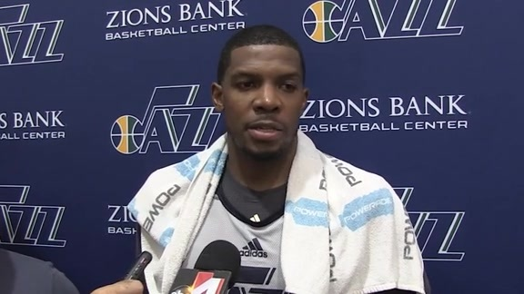Joe Johnson - Practice 9:28:16
