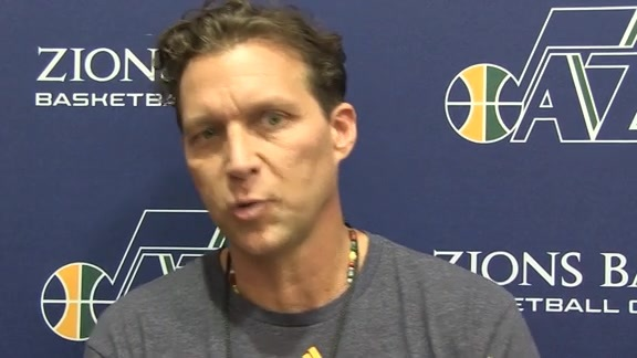 Coach Quin Snyder discusses third day of camp